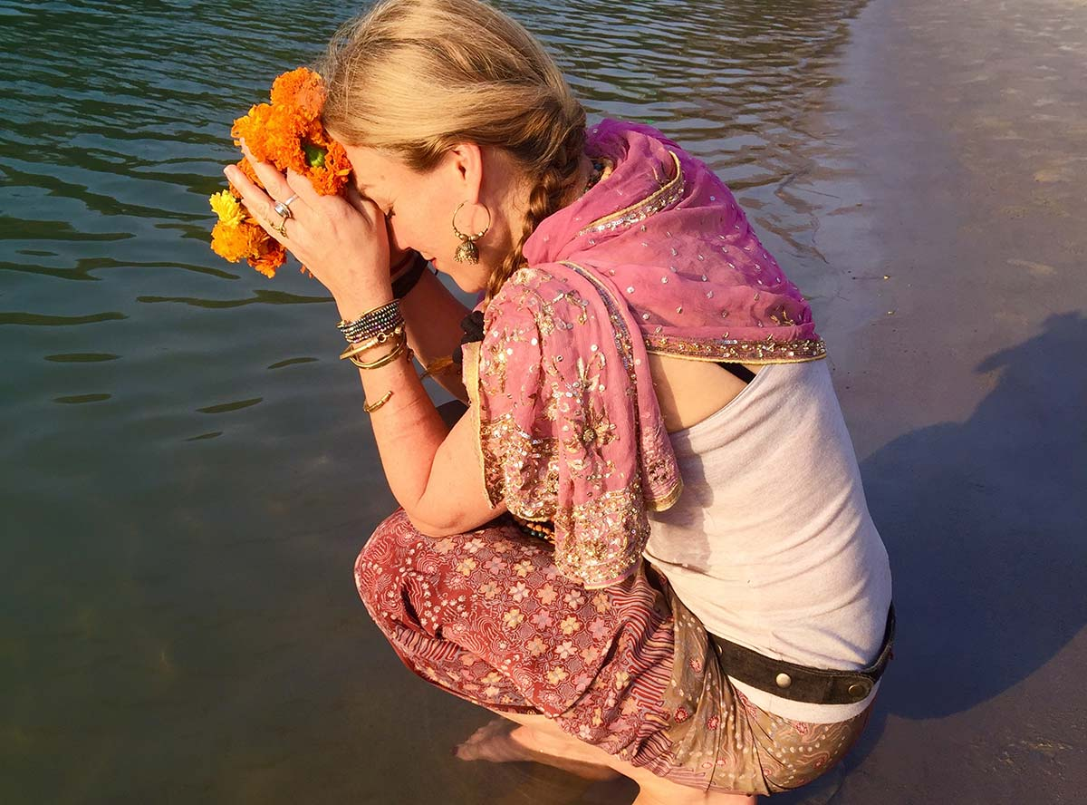Belle Flora at the Ganges